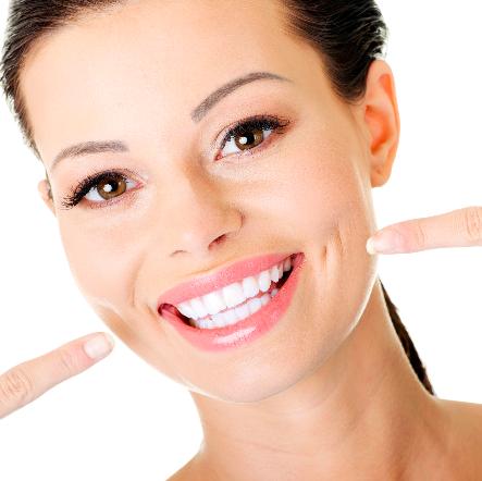 sveiki balti dantys